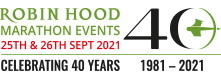 2021 Robin Hood Marathon Events